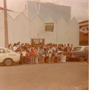 Fachada da Rua Brasil em 1973